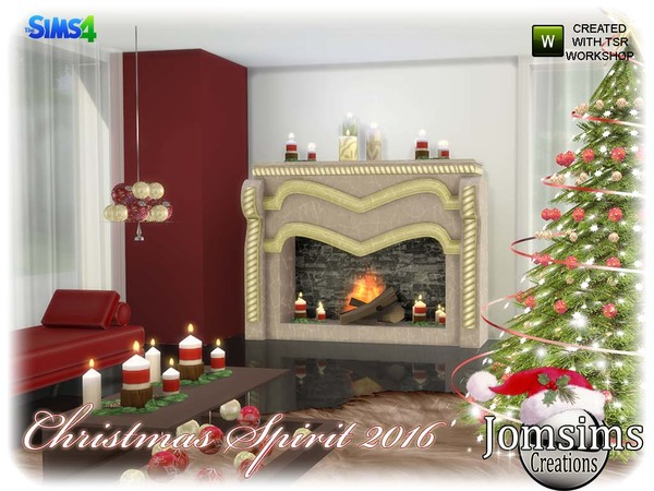 Christmas spirit 2016 set by jomsims at TSR image 1138 Sims 4 Updates