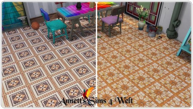 Sims 4 Mosaic Tiles at Annett's Sims 4 Welt