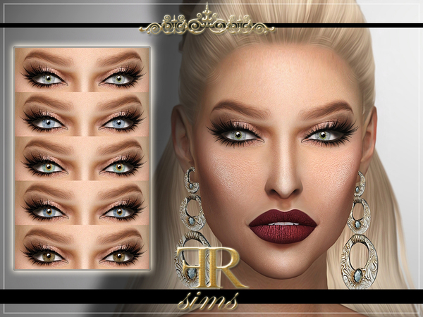 FRS Eyes N02 by FashionRoyaltySims at TSR image 1150 Sims 4 Updates