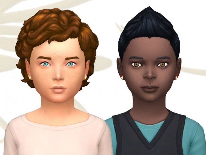 Sims 4 Nolene set by Fuyaya at Sims Artists