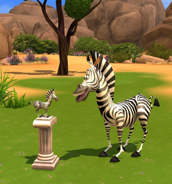 Marty the Zebra at Xelenn image 1153 670x717 Sims 4 Updates