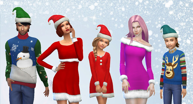 Sims 4 Christmas Pack at My Stuff