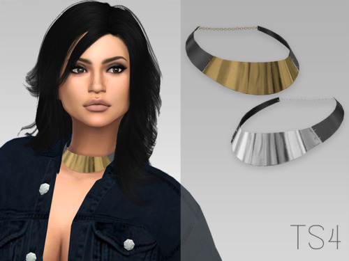 LeahLillith Metal Choker conversion (ts3 to ts4) at Arthurlumierecc – AL image 1168 Sims 4 Updates
