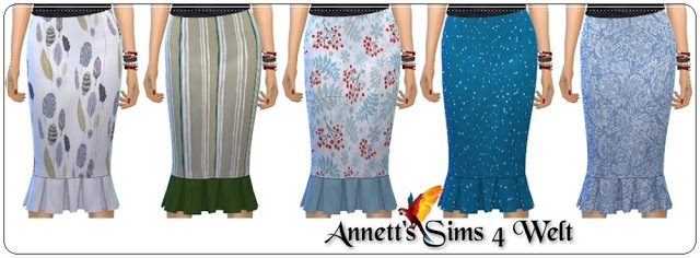 Vintage Glamour Skirt Recolors at Annett's Sims 4 Welt image 1171 Sims 4 Updates