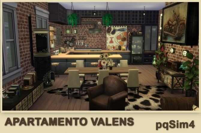 Valens apartment by Mary Jiménez at pqSims4 image 11711 670x445 Sims 4 Updates