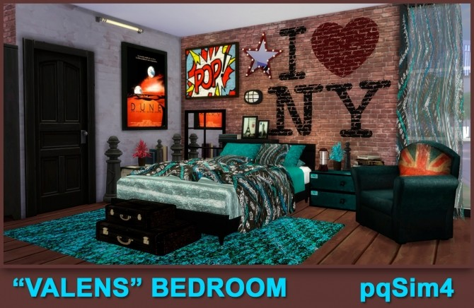 Valens bedroom by Mary Jiménez at pqSims4 image 11810 670x436 Sims 4 Updates