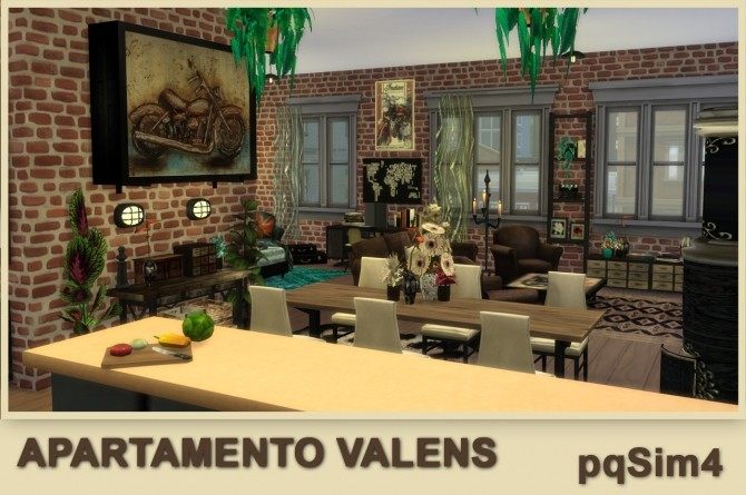 Valens apartment by Mary Jiménez at pqSims4 image 11811 670x445 Sims 4 Updates