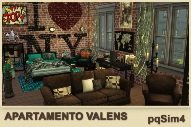 Valens apartment by Mary Jiménez at pqSims4 image 11911 670x445 Sims 4 Updates