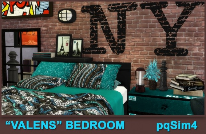 Valens bedroom by Mary Jiménez at pqSims4 image 12010 670x436 Sims 4 Updates