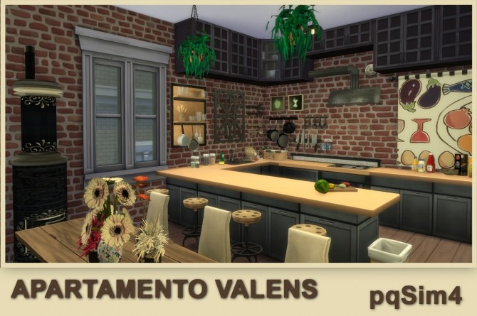 Valens apartment by Mary Jiménez at pqSims4 image 12011 670x445 Sims 4 Updates