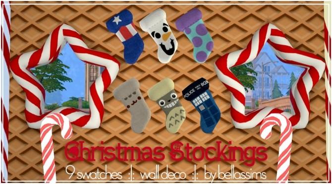 Christmas Socks at Bellassims image 1203 670x371 Sims 4 Updates