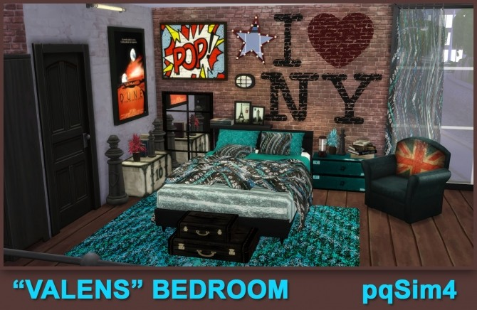 Valens bedroom by Mary Jiménez at pqSims4 image 12114 670x436 Sims 4 Updates