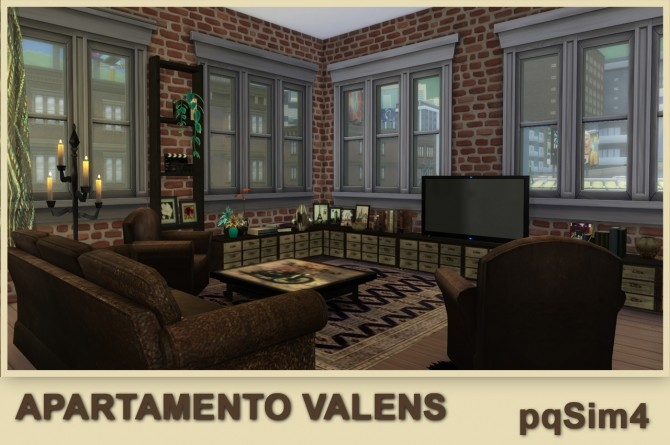 Valens apartment by Mary Jiménez at pqSims4 image 12115 670x445 Sims 4 Updates