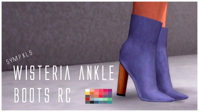 Wisteria Ankle Boots RC by Sympxls at SimsWorkshop image 12116 670x377 Sims 4 Updates