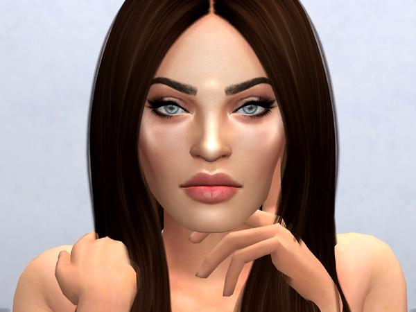 Megan Fox by Softspoken at TSR image 1212 Sims 4 Updates