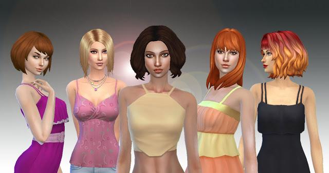 Medium Hair Pack 3 at My Stuff image 1221 Sims 4 Updates
