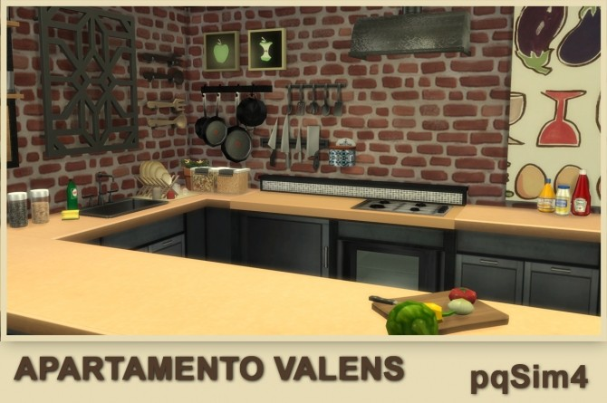 Valens apartment by Mary Jiménez at pqSims4 image 12212 670x445 Sims 4 Updates