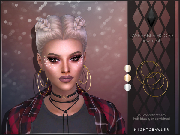 Layerable Hoops by Nightcrawler at TSR image 1229 Sims 4 Updates