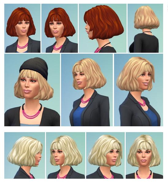 Sims 4 Barbara Hair at Birksches Sims Blog