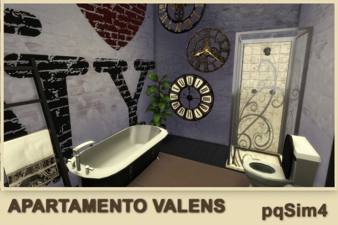Valens apartment by Mary Jiménez at pqSims4 image 12311 670x445 Sims 4 Updates