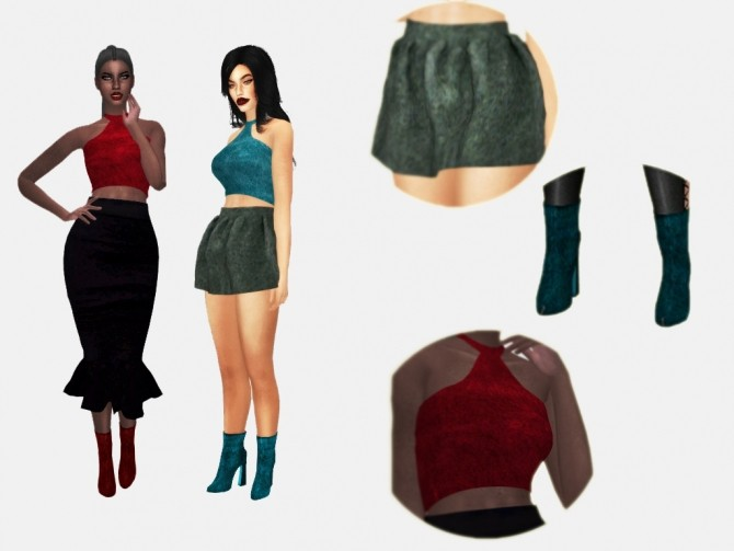 Sims 4 HOLIDAY COLLECTION 2016 at MXFSims