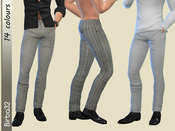 Classic Trousers Man by Birba32 at TSR image 1240 Sims 4 Updates