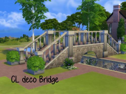 CL deco Bridge at ChiLLis Sims image 1244 Sims 4 Updates