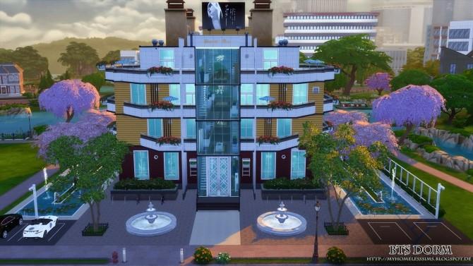 BTS Dorm (Bangtan Boys) at Homeless Sims image 1254 670x377 Sims 4 Updates