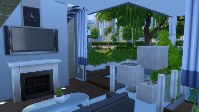 20x15 small modern family home by Kompaktive at Mod The Sims