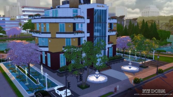 BTS Dorm (Bangtan Boys) at Homeless Sims image 1264 670x377 Sims 4 Updates