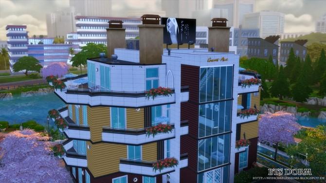 BTS Dorm (Bangtan Boys) at Homeless Sims image 1274 670x377 Sims 4 Updates
