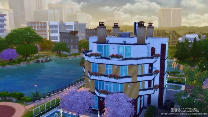 BTS Dorm (Bangtan Boys) at Homeless Sims image 1284 670x377 Sims 4 Updates