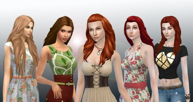 Long Hair Pack 6 at My Stuff image 1286 670x353 Sims 4 Updates