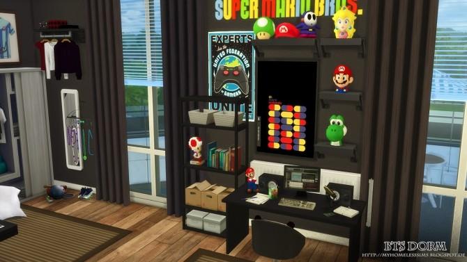 BTS Dorm (Bangtan Boys) at Homeless Sims image 1316 670x377 Sims 4 Updates
