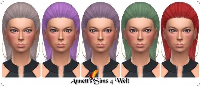 Sims 4 S Club Quella Hair Recolors at Annett's Sims 4 Welt