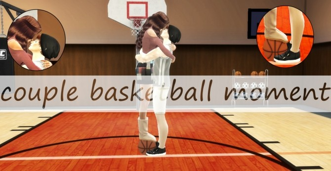 Couple Basketball moment pose at Simsnema image 1322 670x346 Sims 4 Updates