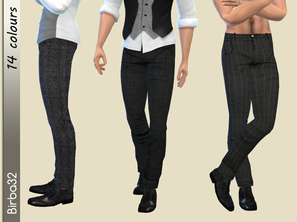 Classic Trousers Man by Birba32 at TSR image 1329 Sims 4 Updates