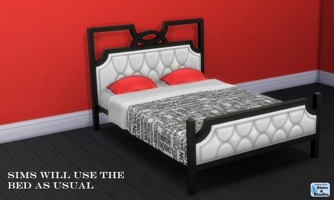 Vintage Glamour Tufted Bedframe by OM at Sims 4 Studio image 1331 670x403 Sims 4 Updates