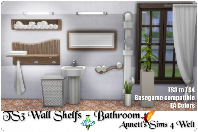 TS3 Wall Shelfs for Bathroom conversion at Annett's Sims 4 Welt image 1336 670x448 Sims 4 Updates