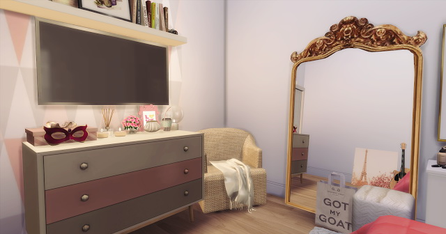 Cute Pinterest Room at Mony Sims image 1338 Sims 4 Updates