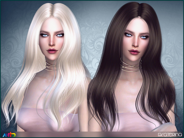 Ekaterina Hair by Anto at TSR image 1340 Sims 4 Updates