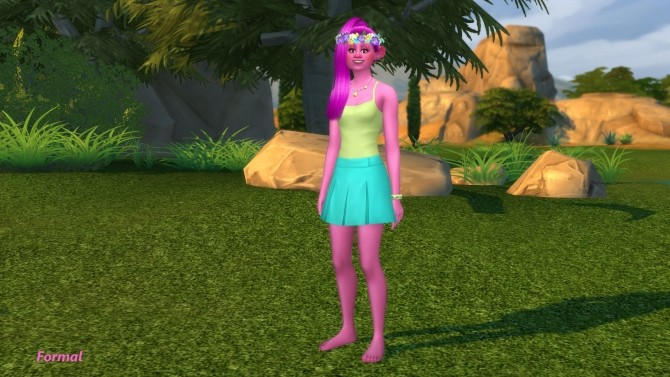Poppy Troll By Snowhaze At Mod The Sims Sims 4 Updates