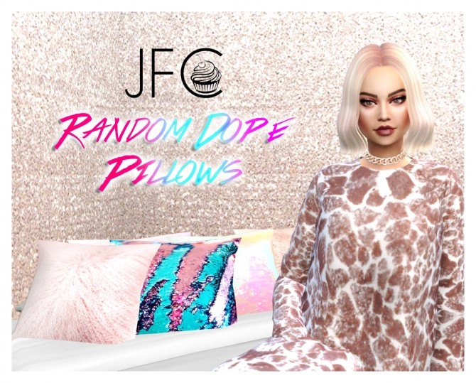 Random Dope Pillows at JFC Sims image 1357 670x539 Sims 4 Updates