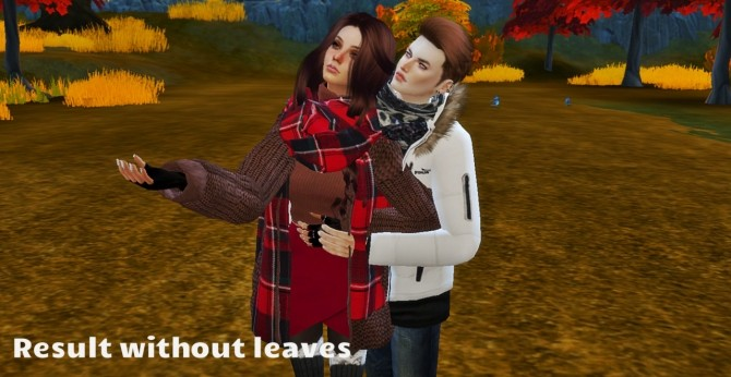 Autumn pose couple at Simsnema image 1383 670x346 Sims 4 Updates