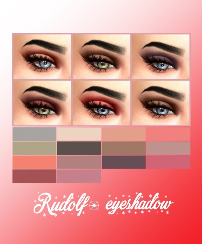 Rudolf eyeshadow at Kenzar Sims image 14210 670x811 Sims 4 Updates
