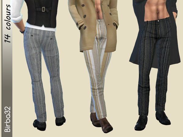 Classic Trousers Man by Birba32 at TSR image 1428 Sims 4 Updates