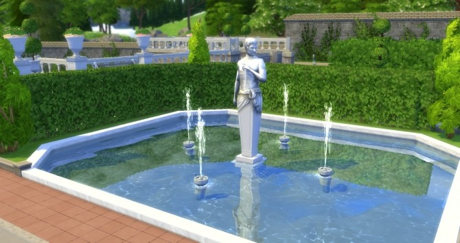 Sims 4 Phillippe of Aznac statue from TS3 by TheJim07 at Mod The Sims