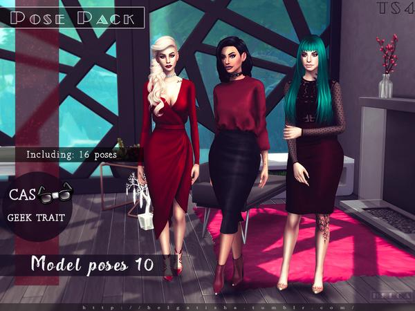 Model poses 10 by HelgaTisha at TSR image 1436 Sims 4 Updates