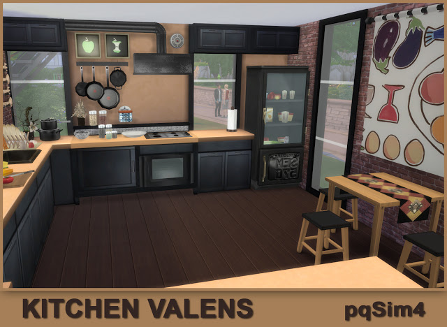 Valens kitchen by Mary Jiménez at pqSims4 image 1483 Sims 4 Updates