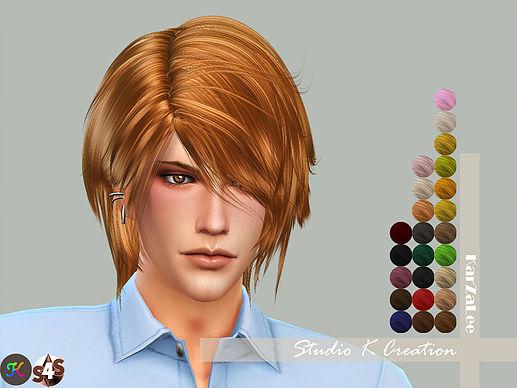 Raito animate hair 74 at Studio K Creation image 1529 Sims 4 Updates